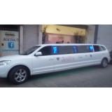 Venda de limousine onde localizar na Chácara Nani