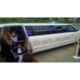 Venda de limousine valor acessível no Jardim Monte Líbano